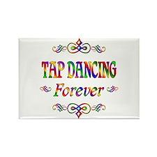 Tap Dancing Forever Rectangle Magnet (100 pack)
