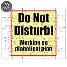 Do Not Disturb! Diabolical Puzzle