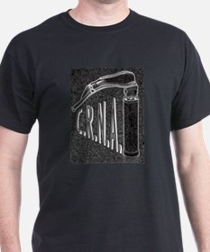 Black T-Shirt with laryngoscope