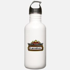 World's Greatest Caregiver Water Bottle