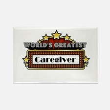 World's Greatest Caregiver Rectangle Magnet