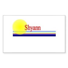 Shyann Rectangle Decal