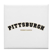 Pittsburgh Varsity Tile Coaster