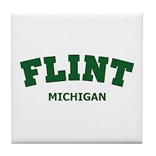 Flint Varsity Tile Coaster
