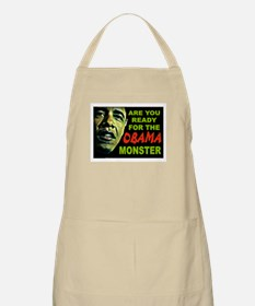 OBAMA MONSTER Apron