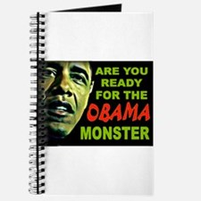 OBAMA MONSTER Journal