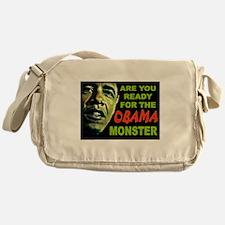 OBAMA MONSTER Messenger Bag
