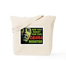 OBAMA MONSTER Tote Bag