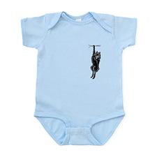 Clingy Schipperke Infant Bodysuit
