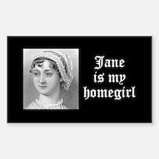 Jane Austen homegirl Decal