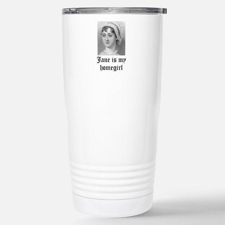 Jane Austen homegirl Travel Mug