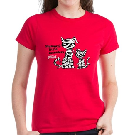 Mommy's Little Monsters Women's Dark T-Shirt