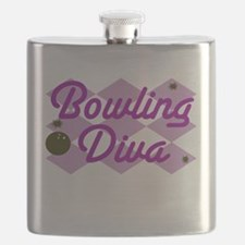 Bowling Diva Flask
