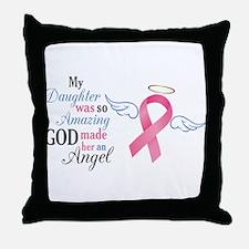 My Daughter An Angel - Throw Pillow