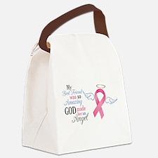 My Best Friend An Angel - Canvas Lunch Bag