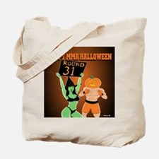 MMA Halloween Fighter and Ring Girl Tote Bag