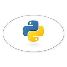 Python Oval Decal