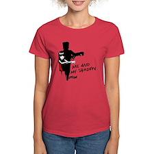 Me And My Shadow Women's Dark T-Shirt