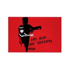 Me And My Shadow Rectangle Magnet