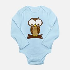 OWL Long Sleeve Infant Bodysuit