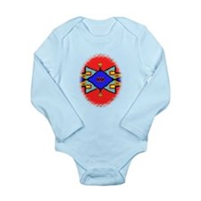 Lakota Dreams Blanket Design Long Sleeve Infant Bo