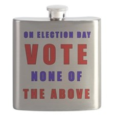 Vote none of the above Flask