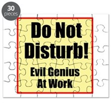 Do Not Disturb! Evil Puzzle
