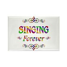 Singing Forever Rectangle Magnet
