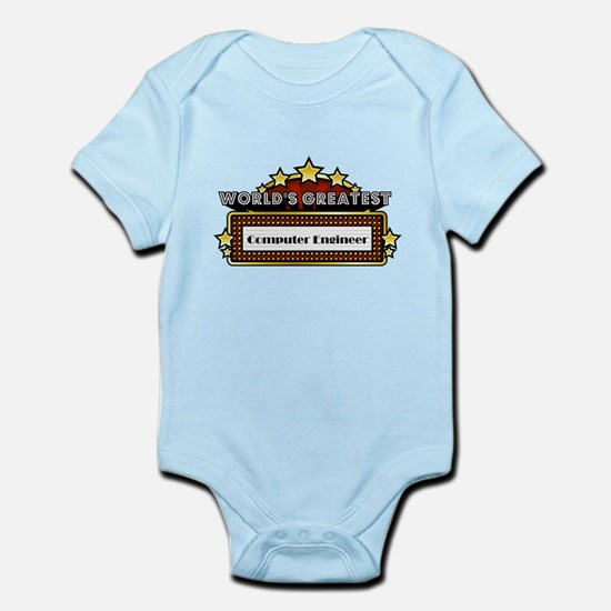 World's Greatest Computer Engineer Infant Bodysuit
