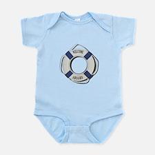 Welcome Aboard Life Preserver Infant Bodysuit