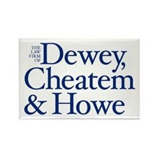 Dewey, Cheatem and Howe - Rectangle Magnet