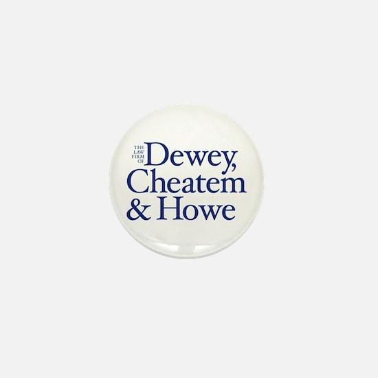 Dewey, Cheatem and Howe - Mini Button