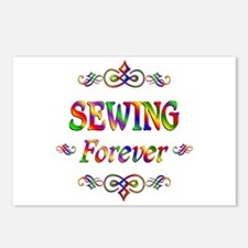 Sewing Forever Postcards (Package of 8)