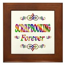 Scrapbooking Forever Framed Tile