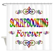 Scrapbooking Forever Shower Curtain