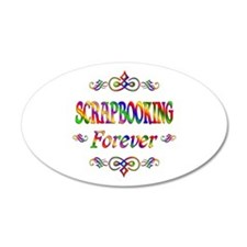 Scrapbooking Forever Wall Decal
