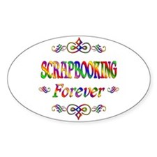 Scrapbooking Forever Decal