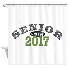 Senior Class of 2017 Shower Curtain