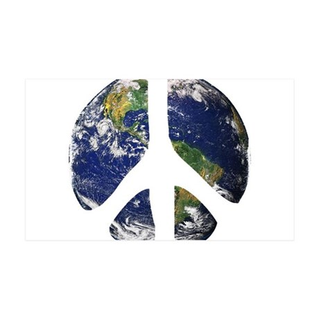 World Peace 35x21 Wall Decal