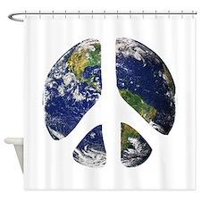 World Peace Shower Curtain