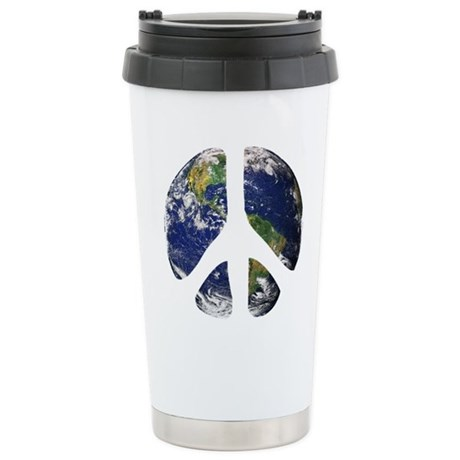 World Peace Stainless Steel Travel Mug