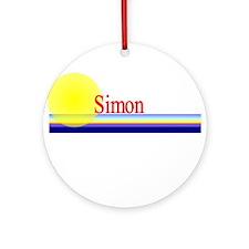 Simon Ornament (Round)