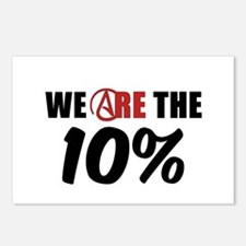 We Are The 10 Percent Postcards (Package of 8)