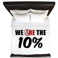 We Are The 10 Percent King Duvet