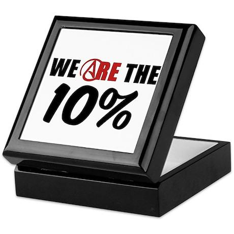 We Are The 10 Percent Keepsake Box