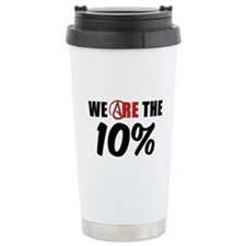 We Are The 10 Percent Travel Mug