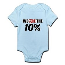 We Are The 10 Percent Infant Bodysuit