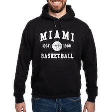 Miami Basketball Hoodie
