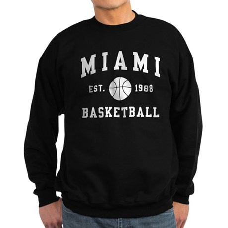 Miami Basketball Sweatshirt (dark)