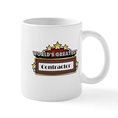 World's Greatest Contractor Mug